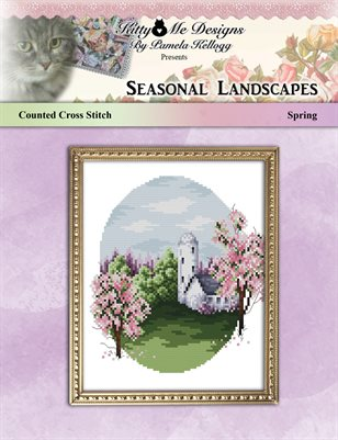 Cross Stitch Seasonal Landscapes Spring