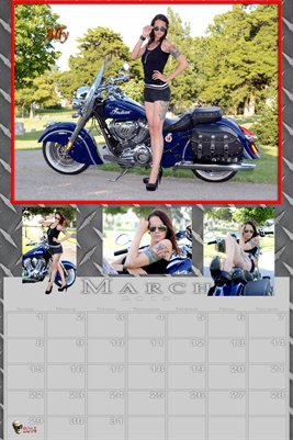Ally Miss March 2015 poster