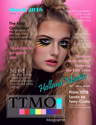 Texas Teen Models Official Magazine March 2018