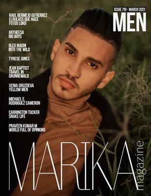 MARIKA MAGAZINE MEN (ISSUE 719 - MARCH)