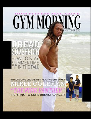 Gym Morning IIDM Fitness Magazine, Vol 1, Issue 3