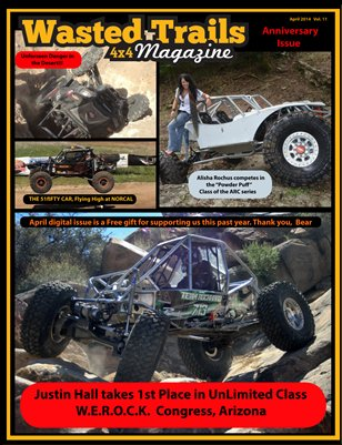 Wasted Trails 4x4 magazine April 2014 issue 11
