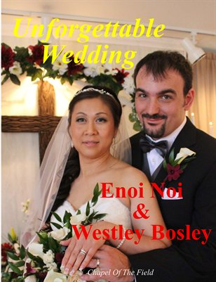 Enoi Noi & Westley Bosley Wedding Magazine