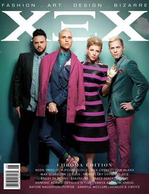 XEX Magazine: Chroma - Neon Trees