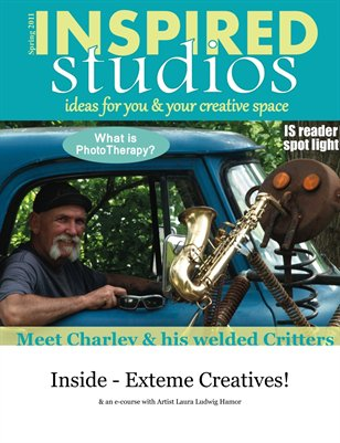 Inspired Studios Magazine Spring 2011 1/2 cover