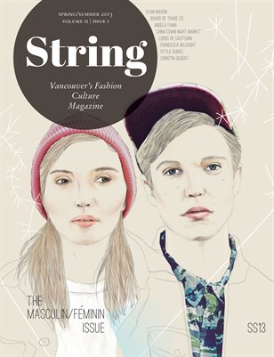String Magazine | SS13| Masculin/Féminin Issue | vol 2 issue 1