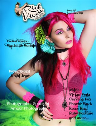 Riot Vixen Magazine - Issue #10 September