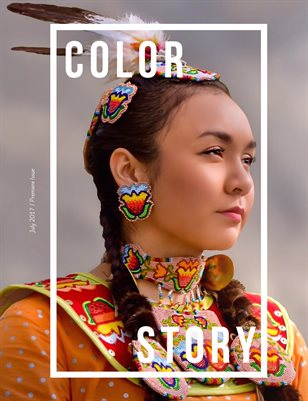 The Premiere Issue of Color Story Magazine