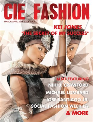 CIE Fashion Magazine Feat: Kei Jones