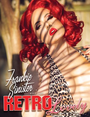 Retro Lovely No.91- Frankie Sinister Cover