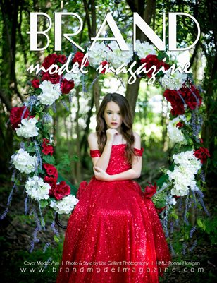 Brand Model Magazine  Issue # 55, RED Vol. 3