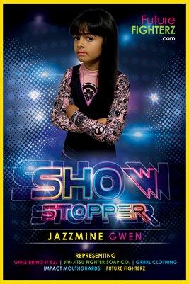 Jazzmine Gwen Showstopper Poster