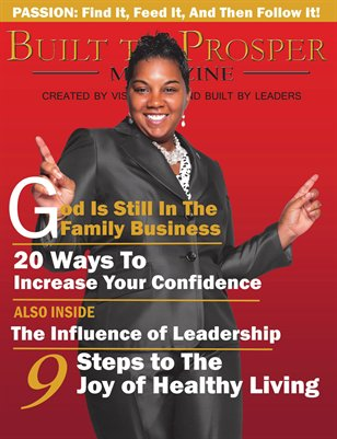 Built To Prosper Magazine Issue II Cover 2