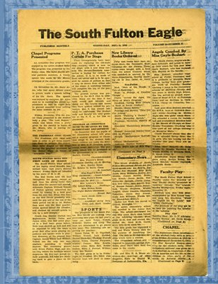 Dec. 9, 1942 South Fulton Eagle, South Fulton, Tennessee School Newspaper