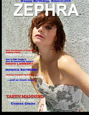 ZEPHRA Magazine:  Issue #8 (Taryn Manning)