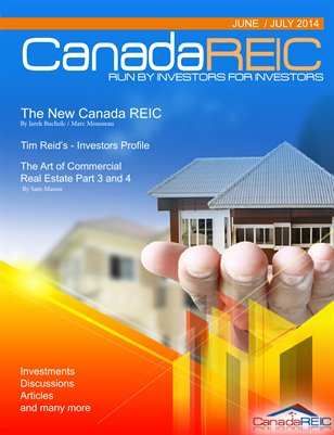Canada REIC Magazine June/July 2014