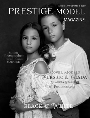 Prestige Models Magazine_Black & White Issue 19