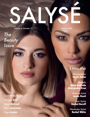 SALYSÉ Magazine | Vol 4 : No 13 | March 2018