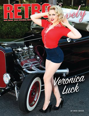 HOT RODS 2020 Vol 1 - Veronica Luck Cover