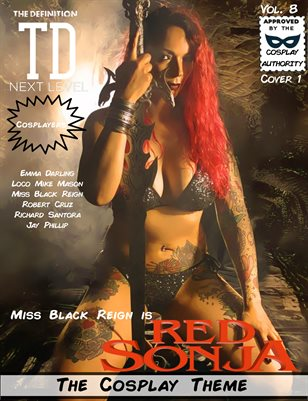 TDM Cosplay Vol.8 Miss Black Reign Cover1