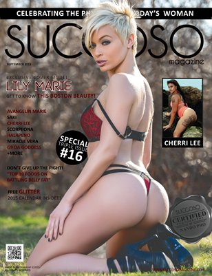 Succoso Magazine Triple Issue #16 featuring Cover Model Lily Marie