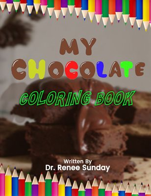 My Chocolate Coloring Book