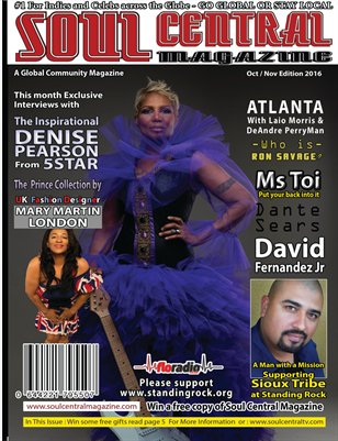 Soul Central Magazine Special Edition Oct/Nov Edition 2016