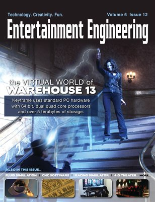 The Virtual World of Warehouse 13