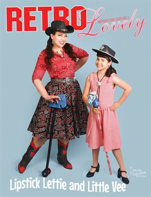 Retro Lovely Mother's Day 2020 Vol.2 Lipstick Lettie & Little Vee Cover