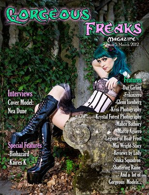 Gorgeous Freaks Magazine Female Cover Issue 5