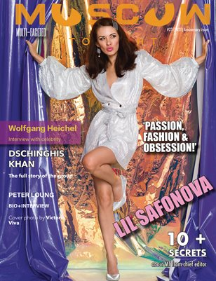 Moscow tonight magazine/Anniversary issue/October 2021