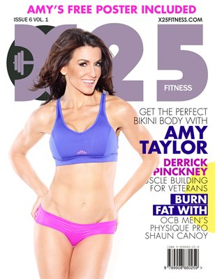 X25 Fitness Magazine #6 Amy Taylor