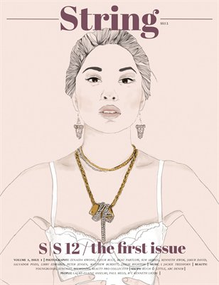 String Magazine | SS12 | Ther First Issue | volume 1 issue 1