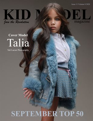Kid Model magazine Issue 11 Volume 8 2020 SEPTEMBER TOP 50