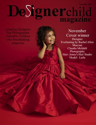 Designer Child magazine November 2019