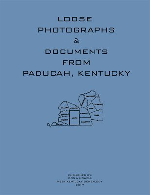 Loose Photographs & Documents from Paducah, Kentucky