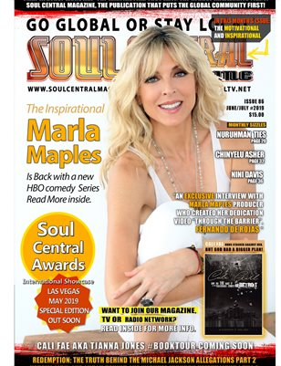 """Soul Central Magazine Edition #86 Marla Maples"""