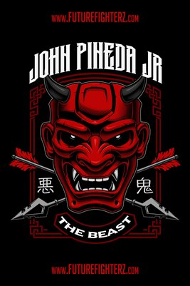 John Pineda Jr Devil Design Poster