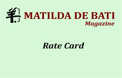Rate Card Magazine