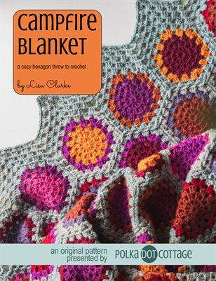 Campfire Blanket Crochet Pattern