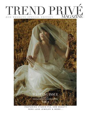 Eco Wedding Issue 2021 | Vol. 2 - Trend Privé Magazine