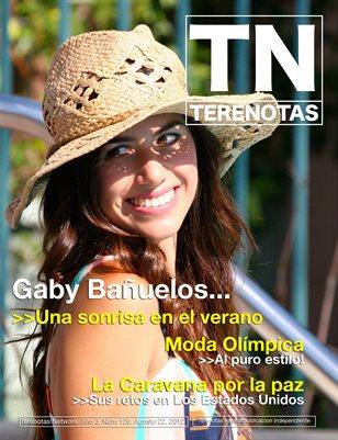 Gaby Banuelos... Una sonrisa en el verano