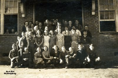 1937-1938 MELBER JUNIOR HIGH CLASS