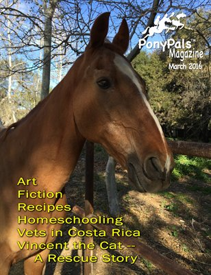 March 2016 Pony Pals Magazine -- Vol.5 #10