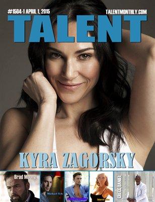 Talent Monthly Magazine April 1, 2015 #1504-1