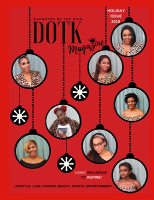 DOTK MAG HOLIDAY ISSUE