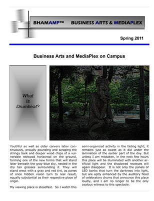 Business arts on campus