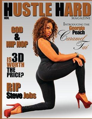 HUSTLE HARD MAGAZINE NOVEMBER ISSUE