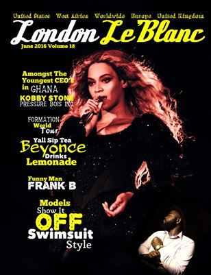 London Le'Blanc Magazine Vol. 18- Beyonce