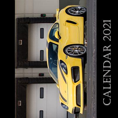 Car Calendar 2021